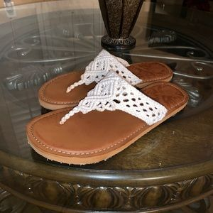 Time and Tru Lace Sandals